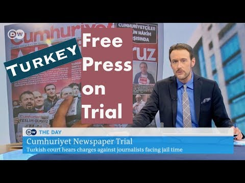 On Trial in Turkey: The Free Press