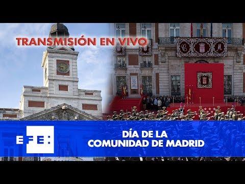 Actos oficiales por el día de la Comunidad de Madrid
