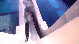 Rider's View on Tower of Neptune at Atlantis Dubai