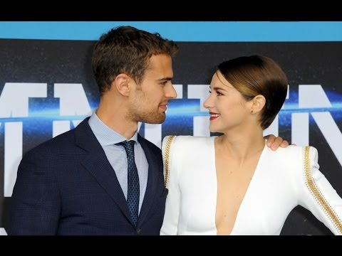 "Shailene Woodley And Theo James (2014) - Take ""Divergent"" To Berlin Germany"