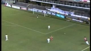 Santos 3 Internacional 1 Copa Libertadores 2012 Los 3  goles de Neymar (Crack)