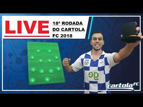 LIVE DO CAMPEÃO   19ª RODADA CARTOLA FC 2018