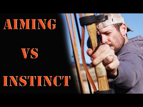 Instinctive Archery Vs Aiming A Recurve Or Longbow