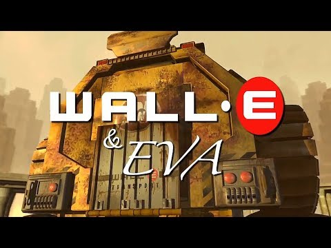 "Short film ""Wall E & Eva"" - Best animated movies about robots for kids"