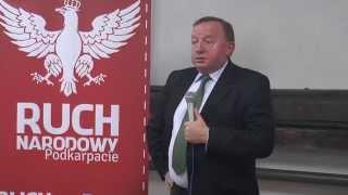 """Stanisław Michalkiewicz w Brzozowie - """"Dobry / Zły liberalizm?"""""""