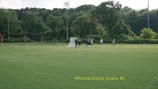 Gambar cover Michael Eisele 2022 Lacrosse Goalie Highlight Tape