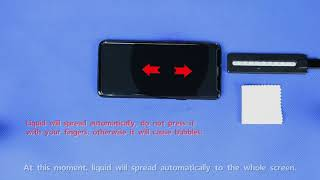 3D Glass Screen Protector Installation Instruction - 0822