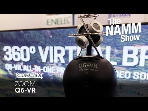 Zoom Q6-VR Video/Audio Recorder at Winter NAMM 2020