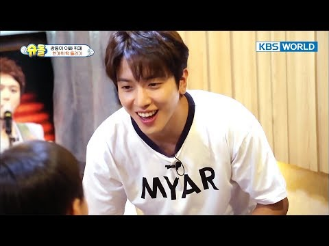 Twins share Chuseok rice cake with neighbors (FEAT.JungYonghwa)[The Return of Superman/2017.10.29]
