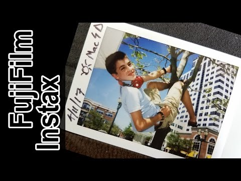 Shooting Instax Film @ Town Center Virginia Beach