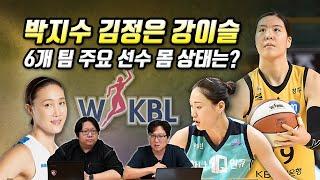 [9월3주 WKBL 루머&팩트] 박지수 김정은 강이슬, 6개 팀 주요 선수 몸 상태는?