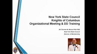 2020 Org Meeting 6 Membership NY Team