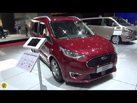 2018 ford tourneo connect 1 5 tdci exterior and interior. Black Bedroom Furniture Sets. Home Design Ideas