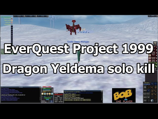 EverQuest Project 1999 #11 - Taking on a dragon in Western