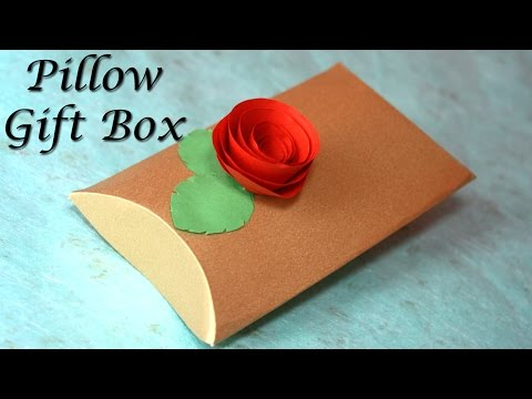 How to make a Pillow Gift Box   DIY Gift Boxes