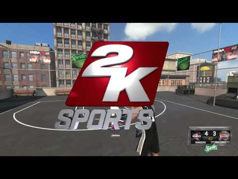 NBA 2K15 Lebron James Vs Tim Duncan 1v1 Blacktop PC Gameplay