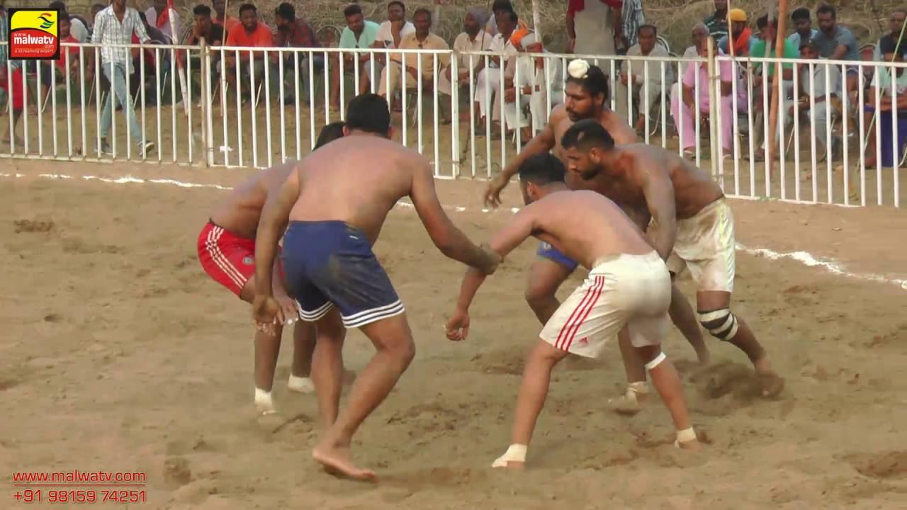 ਫਰਵਾਲਾ (ਜਲੰਧਰ ) FARWALA | KABADDI TOURNAMENT - 2016 | 1st SEMI FINAL | Full HD | Part 10th