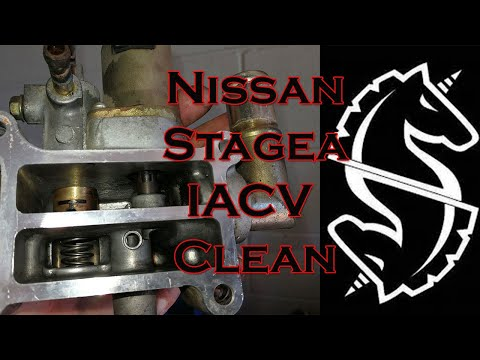 Nissan Stagea Rb25 Neo IACV clean