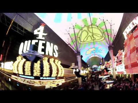 Las Vegas Zip Line | Fremont Street Experience Las Vegas, NV | 1080p High Definition
