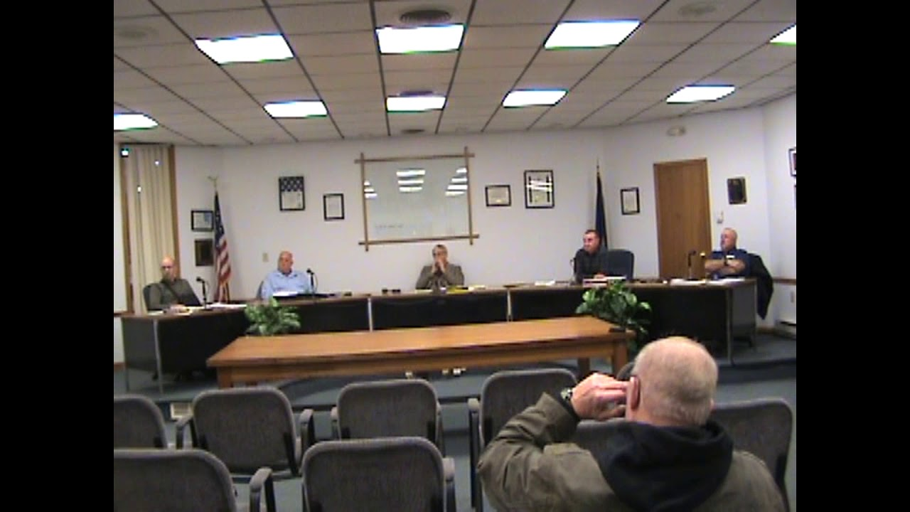 Rouses Point Village Board Meeting  1-22-19
