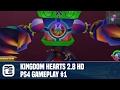 Kingdom Hearts 2.8 HD PS4 Gameplay #1