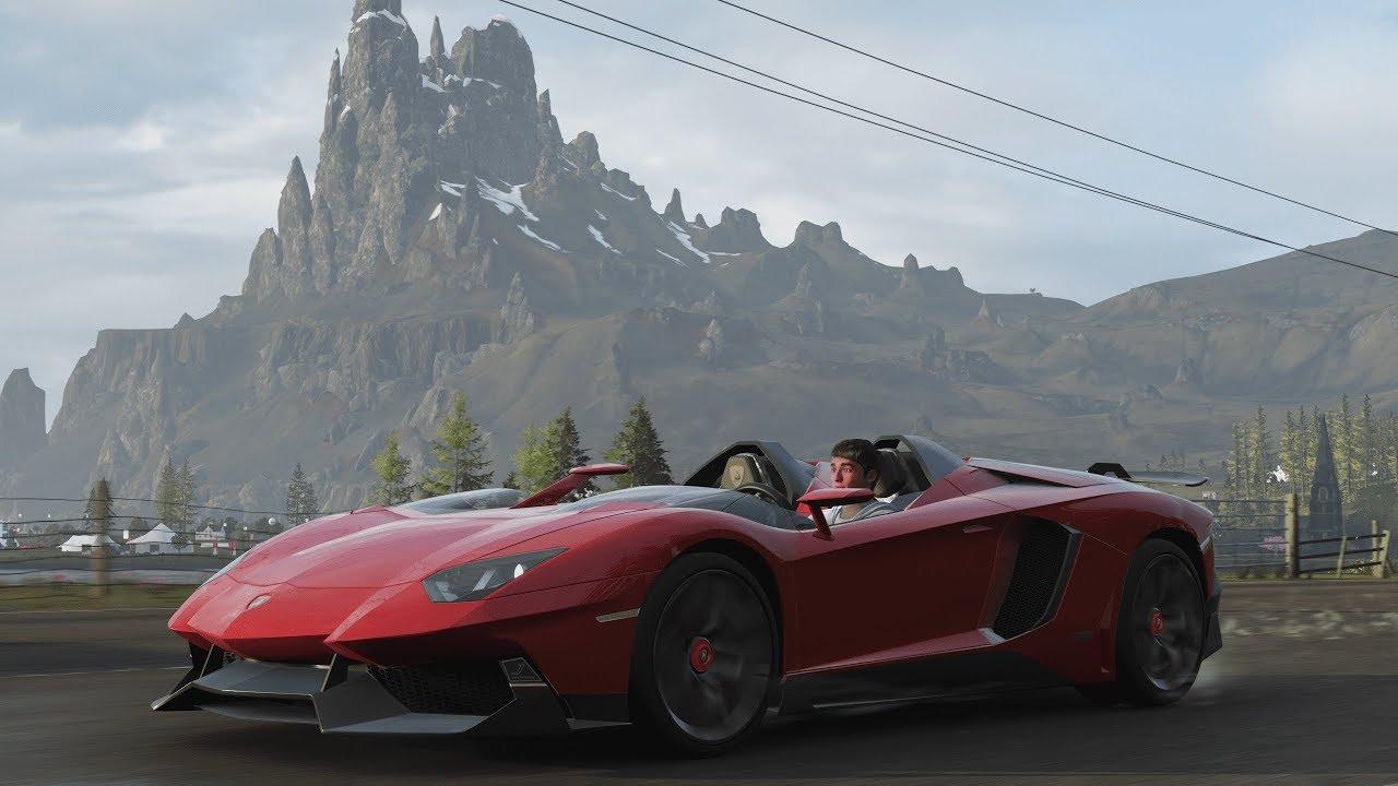 Forza Horizon 4 Lamborghini Aventador J Fortune Island Expansion