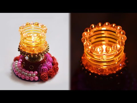 HOW TO: make diya stand | tealight candle holder | Art with Creativity