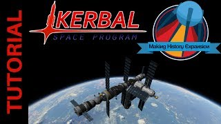 Building the Mir Space Station - Launch of Kristall: Kerbal Space Program Making History