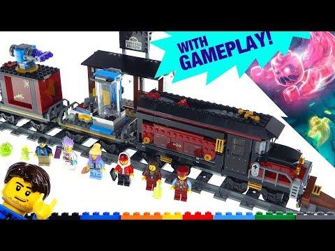 LEGO Hidden Side Ghost Train Express + AR App demo & review! 70424
