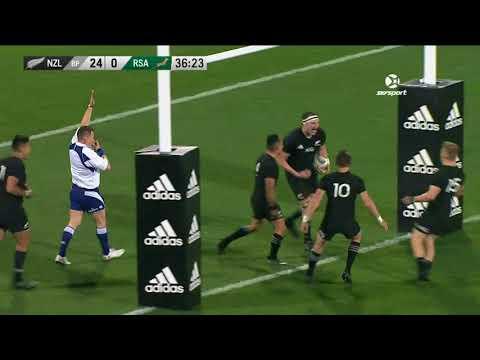 HIGHLIGHTS: All Blacks v South Africa first Test
