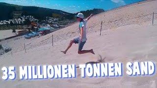 35 MILLIONEN TONNEN SAND! | Ein Tag am Monte Kaolino