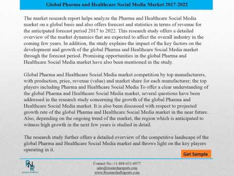 Global Pharma and Healthcare Social Media Market Size, Status and Forecast 2022