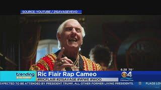 Trending: Wrestler Ric Flair Makes Cameo In Rap Video