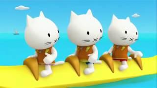 МУСТИ - лучшие мультфильмы - Верхом на банане