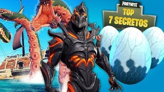 THE 7 MOST IMPACTANT SECRETS OF FORTNITE (SEASON 9)