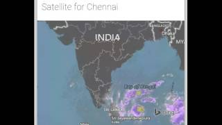 Weather report chennai today