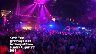 Kevin Yost  Privilege Ibiza. Jamiroquai... @ www.OfficialVideos.Net