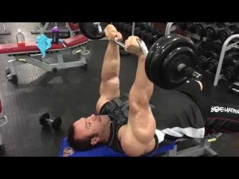 16 days out Andrew Hudson Late night arm session