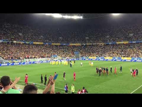 Фантастические овации сборной Украины во Львове