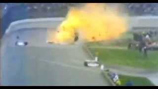 Swede Savage 1973 Indy 500 Fatal Crash Original ABC Broadcast Footage