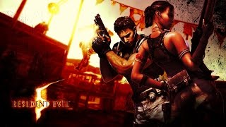 RESIDENT EVIL 5 Remaster - Gameplay do Início!