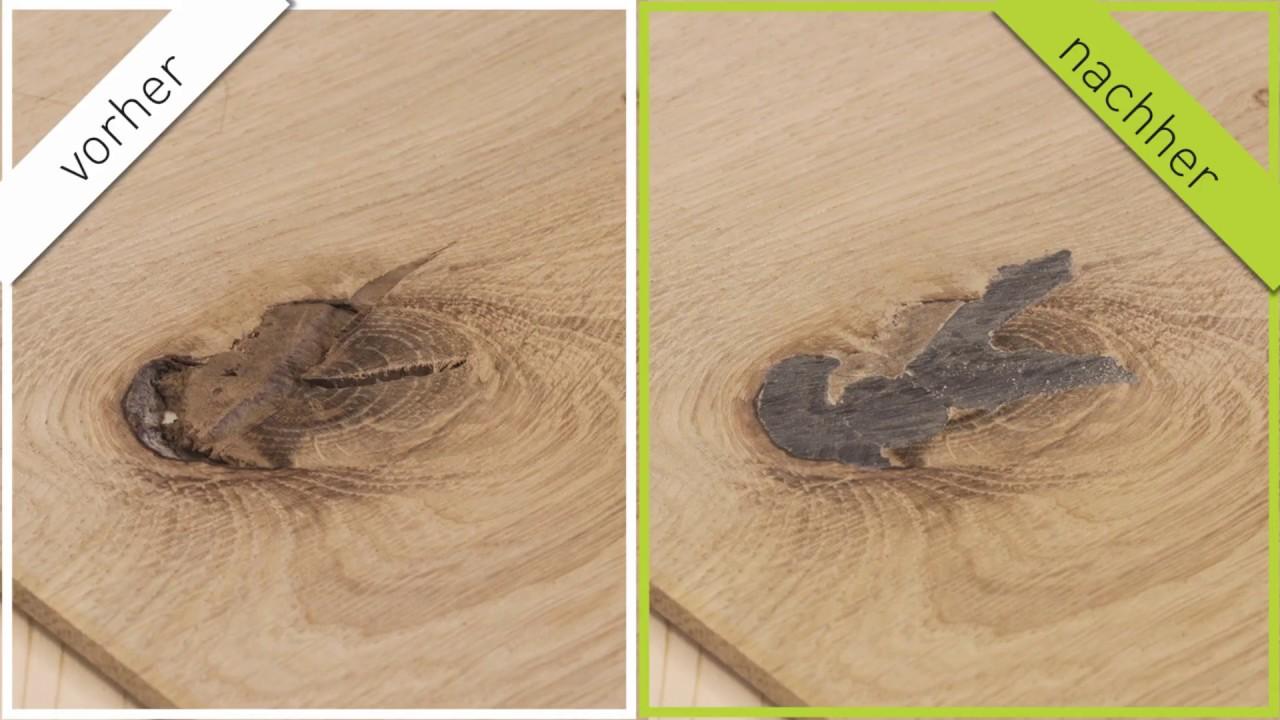 Astausfüller Holzreparatur Nachfüll Pack 8 x 150 mm woodrepair Rissfüller Ast