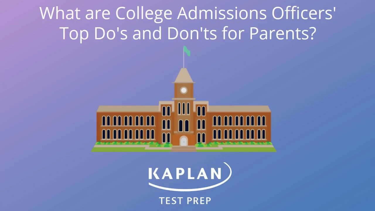 college admissions officers what is