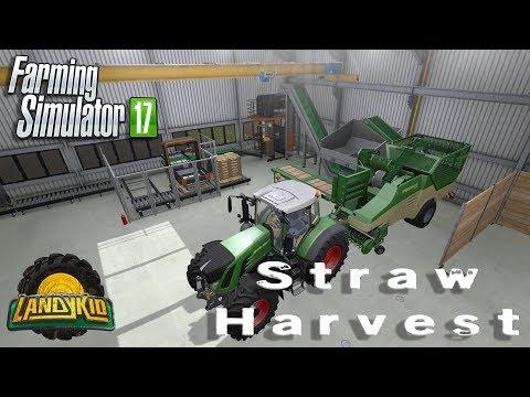 Farming Simulator 17 | ADD-ON | Straw harvest