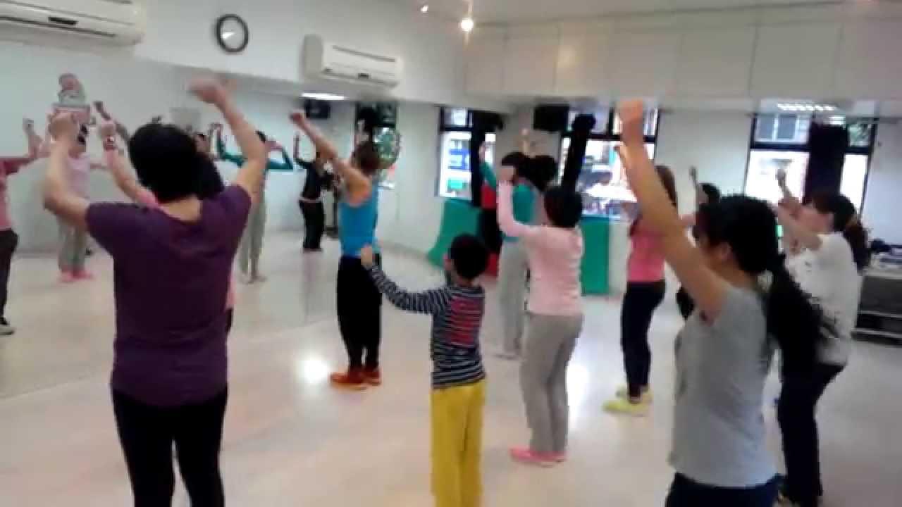 每週日 早安流行派對有氧課程花絮 - Luffy豆腐老師 - YouTube