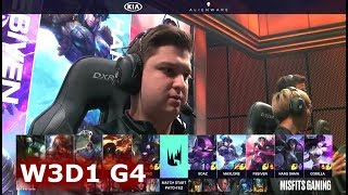 Excel Esports vs Misfits | Week 3 Day 1 of S9 LEC Spring 2019 (ex-EULCS) | XL vs MSF W3D1