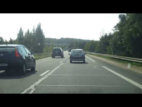 A6 exit to Fontainebleau