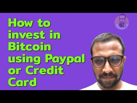 How To Invest In Bitcoin Using Paypal Or Credit Card - Easiest Way To Buy Cryptocurrencies