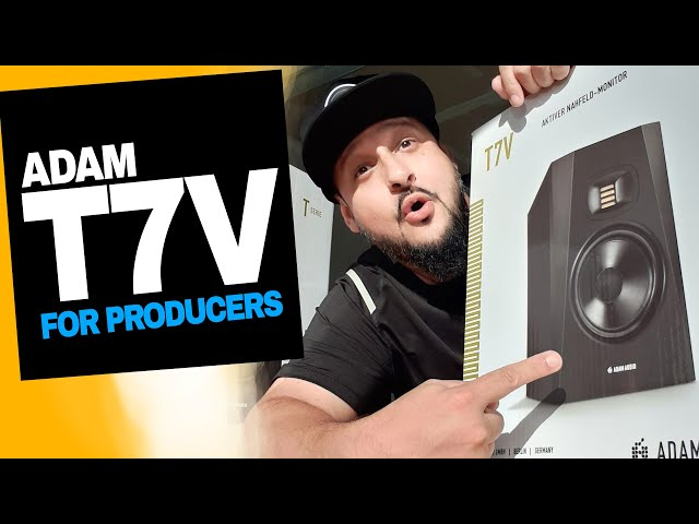 Best Studio Monitors for Producers in 2020? I THINK SO! | Adam T7V Review