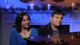 Frozen: Songwriters Kristen Anderson-Lopez & Robert Lopez Official Movie Interview